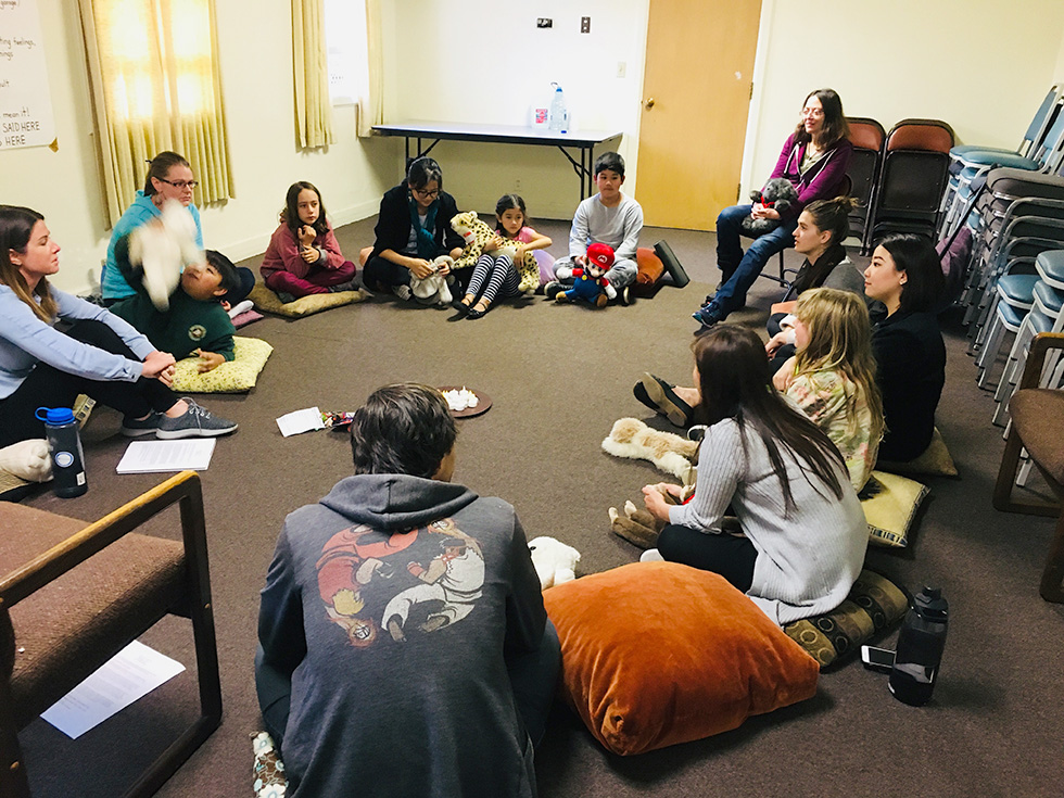 Josie's Place — teen talking circle